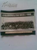 老照片;国家领导人接见部队团以上干部留影[83]原照