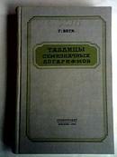 七位对数表【1956.4国内影印版】布面精装、私藏图书