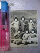 民国老照片 6姐妹合影
