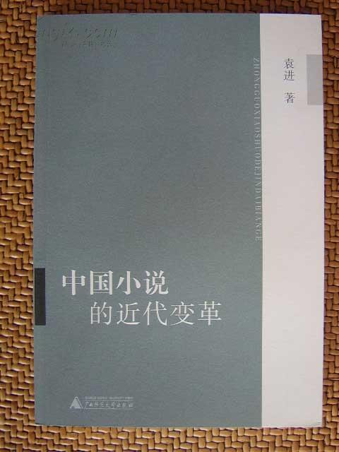 L【库存新书】文学研究《中国小说的近代变革》