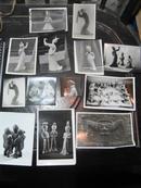 舞蹈家*殷亚昭*家流出七八十年与舞蹈有关的文物照片13张------跳舞的陶俑