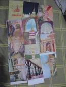 上海中苏友好大厦明信片12枚1套