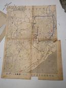 民国:杭州市街西湖全图  34x25公分