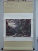 名人字画:国画家吴子明作品----夏 (尺寸138*67)