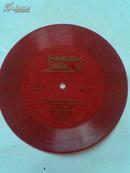 小红胶唱片;歌曲(毛主席草原人民热爱您,藏族人民纵情歌唱,我们是光荣的共青团员,等)