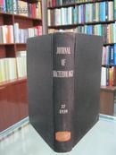 民国英文版(JOURNAL OF BACTERIOLOGY)《美国细菌学月刊》 37卷 1939年