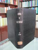 英文版(JOURNAL OF BACTERIOLOGY)《美国细菌学月刊》 57卷 1949年