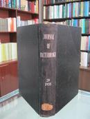 民国英文版(JOURNAL OF BACTERIOLOGY)《美国细菌学月刊》 29卷 1935年