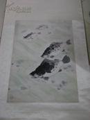 原装裱七、八十年代换外汇出口画一幅  鱼   无款 有亚明章一方看懂的来买  69*46厘米