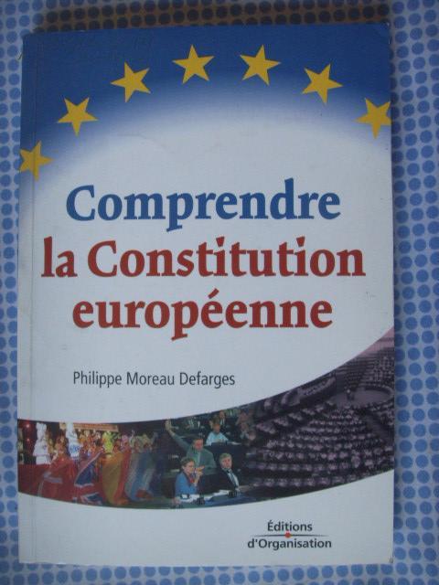 法文原版          欧洲宪法  COMPRENDRE LA CONSTITUTION EUROPéENNE