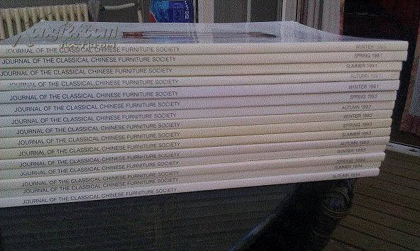 美国加州中国古典家具学会会刊 季刊16册全