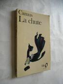 La chute【堕落,加缪,法文原版,内页大量研读字迹】