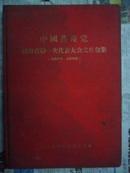五十年代文件资料:中国共产党湖南省第一次代表大会文件汇集(16开红色布面精装)