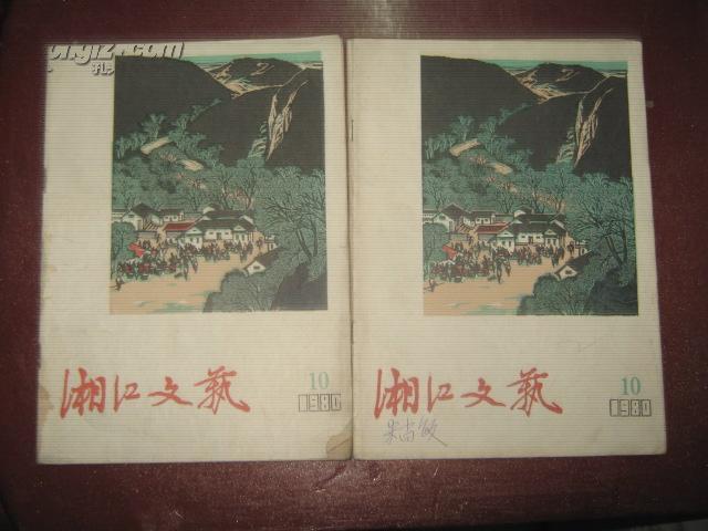 湘江文艺1980年第10期n