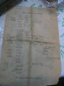 民国时期<营口纸厂制浆方法及配料情形>8开油印
