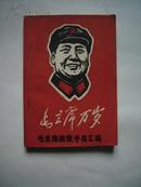 100开文革画册,《毛主席万岁——毛主席画像、手书汇编》