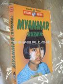 德文原版         全彩插图 缅甸 Myanmar - Burma - Axel Bruns Helmut Köllner