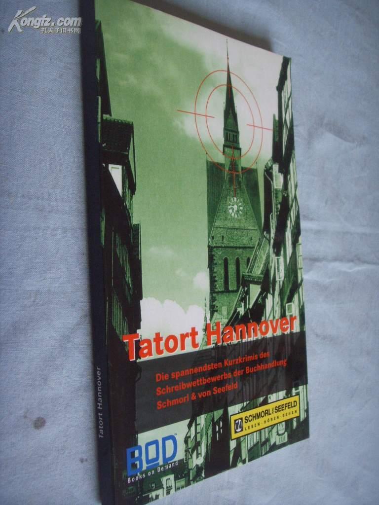 德文原版         Tatort Hannover. by Portia DaCosta