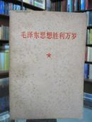 毛泽东思想胜利万岁  1949.10---1956