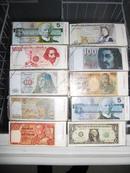 书签(外币欣赏书签、12.5X5.5cmX1张)一包10个2元
