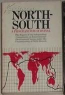 英文原版 North-South:A Program for Survival by Willy Brandt