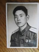 老照片:五十年代军人像片[3.5x5cm]