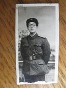 老照片:五十年代军人像片[2.5x5cmcm]