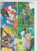 明信片:情侣  9张有封套