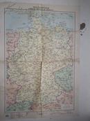 德意志联邦共和国  地图