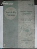 (南极地图开本系列 南极大气气候环境的表面) 英文版 8开活页