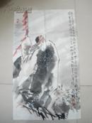 中国书画院副院长王延林精品人物画--永久保真包退