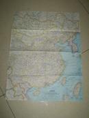 1964年中国地图
