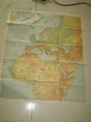 1942年(欧洲,北非,亚洲西部)部分区域图