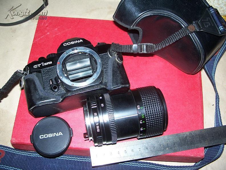 老照相机---COSINA--CT1super长镜头日本制造..性能良好