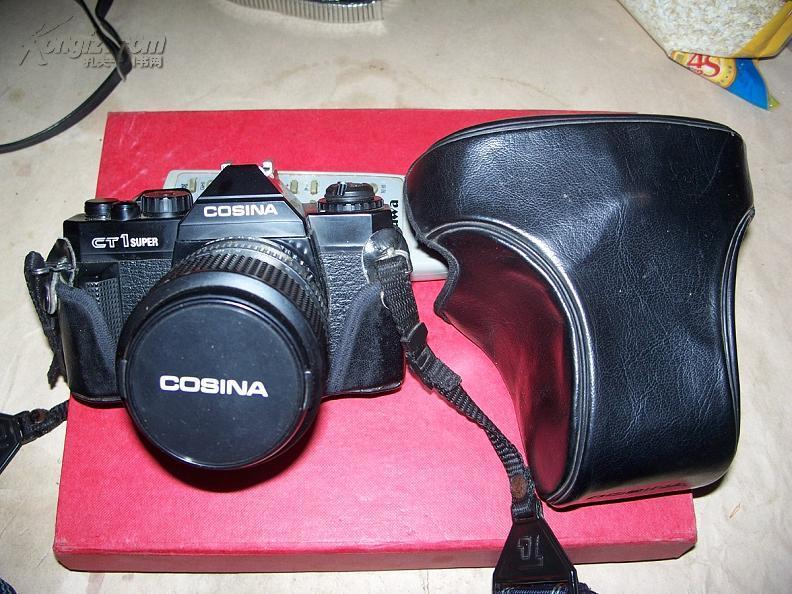 老相机---COSINA--CT1super长镜头日本制造..性能良好