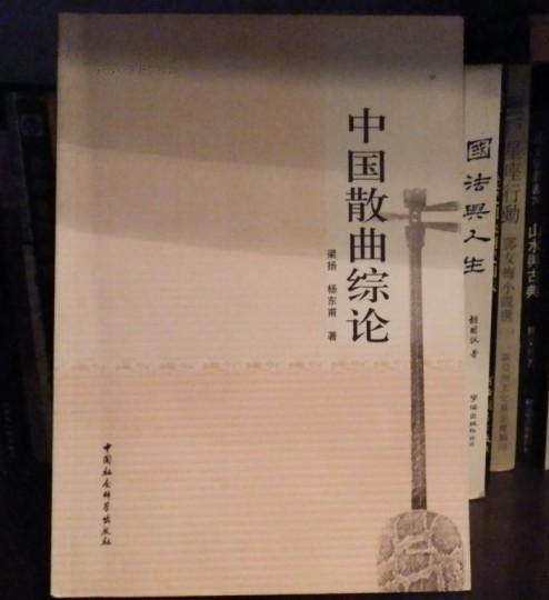 中国散曲综论