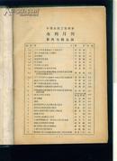 黄河水利月刊 第六卷 1-6期合订 国内包邮