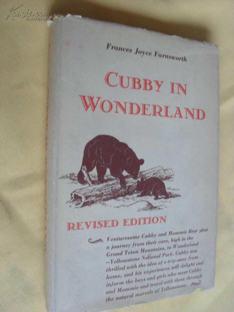 英文原版          精装 Cubby in Wonderland