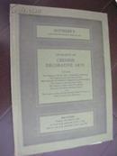 伦敦苏富比   1980年3月7日  精美中国家具&艺术品  专场