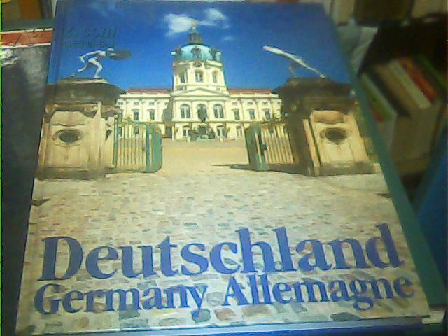 【(德意志联邦共和国,彩色图集)】Deutschland·Germany.Allemagne 德法英三语言介绍德国画册【德国印制 原版】