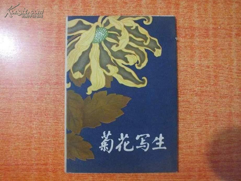 79年32开画册  菊花写生