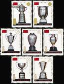 J71 中国乒乓球队荣获七项世界冠军纪念 邮票