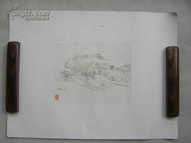 古代文人书画 小品-件
