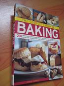 烘焙 【食谱蛋糕、馅饼、松饼,果馅饼,面包,面包和饼干】 The complete book of baking  (外文原版 大16开 铜彩精印)