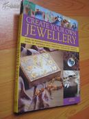 创建你自己的珠宝 Create Your Own Jewelry (外文原版 大16开 彩印)