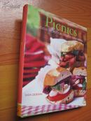 野餐:美味的食谱Picnics: Delicious Recipes for Outdoor Entertaining〔精装20开 彩印〕