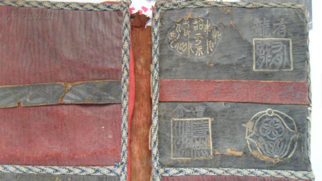 清朝光绪早期官员用靴掖(无棣地方发现)