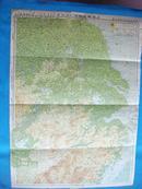 """勿忘""""918""""日本侵华原版地图资料之二;《上海南京附近图》、伪《满洲国全图》"""