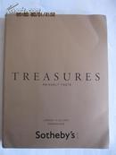 sotheby\'s伦敦苏富比2012年拍卖会【Treasures--princely taste】