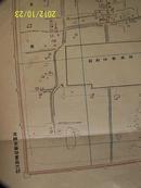 《实测北京内外城地图》  罕见!民国2年内务部职方司测绘处制巨幅大比例(1:8500)尺寸为(115:100cm)/罕见带当时出版时封套纸袋/十分珍贵!